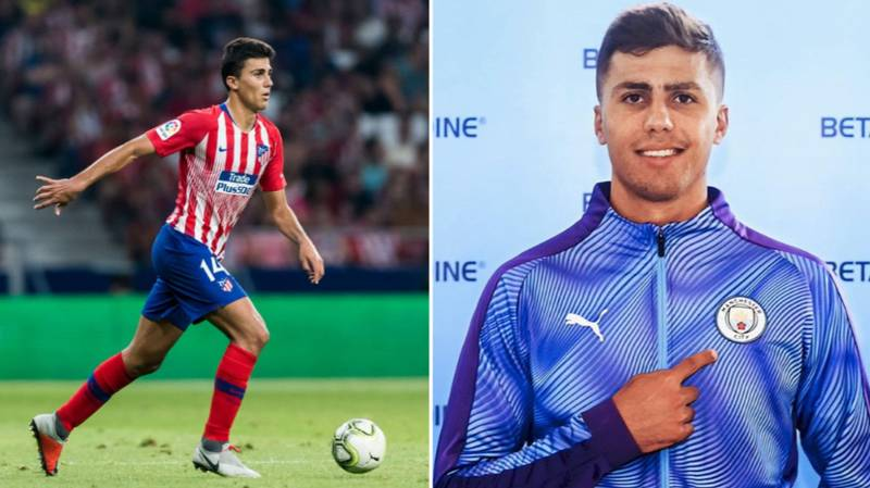 Rodri's Statistics From Last Season For Atletico Madrid Are Genuinely Mind-Blowing