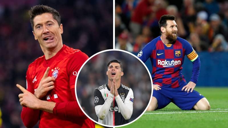 Robert Lewandowski Is More Clinical Than Cristiano Ronaldo And Lionel Messi