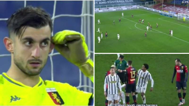 Cristiano Ronaldo Caught Mocking Goalkeeper As Video Picks Up Their Conversation