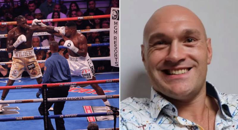 Tyson Fury Breaks His Silence On Deontay Wilder's Devastating KO Victory Over Luis Ortiz