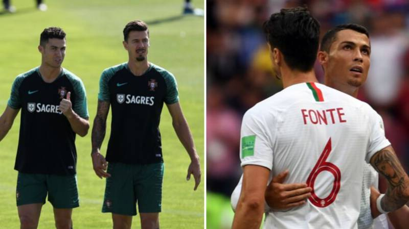 Jose Fonte Tells The Story Of His First Ever Meeting With Cristiano Ronaldo