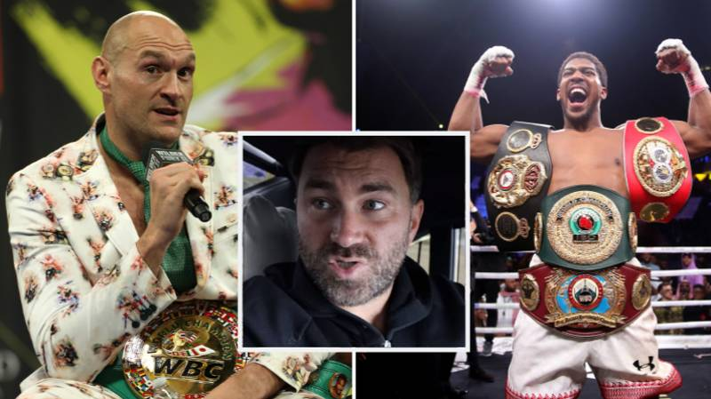 Eddie Hearn Hits Back At Suggestion He's Not In Talks For Anthony Joshua Vs Tyson Fury