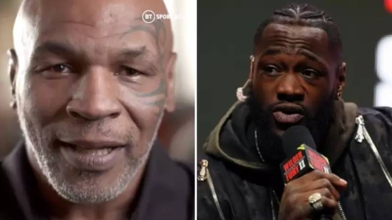 Mike Tyson Responded To Deontay Wilder Claiming He Could KO Him In His Prime