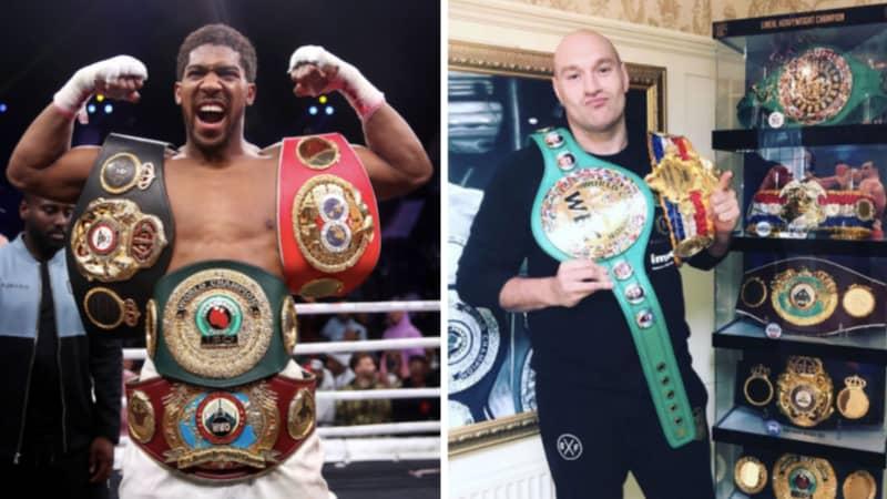 Talks Underway For Tyson Fury vs Anthony Joshua Heavyweight Unification Clash