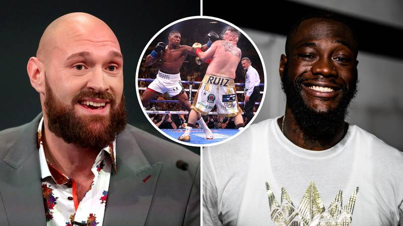 Deontay Wilder Calls For Tyson Fury To 'Step Aside' So He Can Challenge 'AJ' Or Andy Ruiz Jr