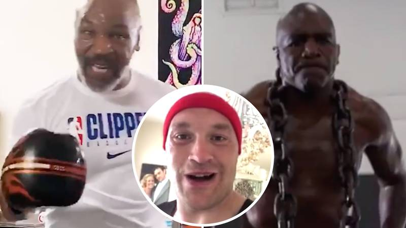 Tyson Fury Reacts To Mike Tyson's Comeback And Completing Trilogy Fight With Evander Holyfield