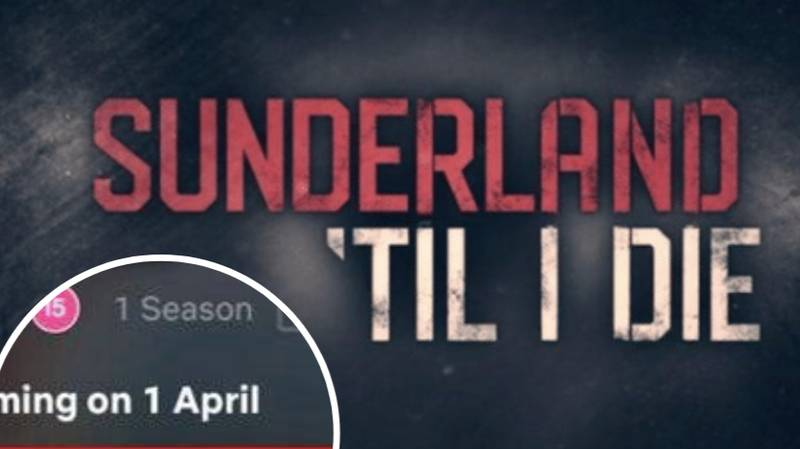 'Sunderland Til I Die' Will Be Live To Watch On Netflix Tomorrow