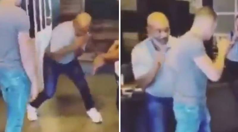 Mike Tyson Rolls Back The Years By Showing Off His Incredible Boxing Skills