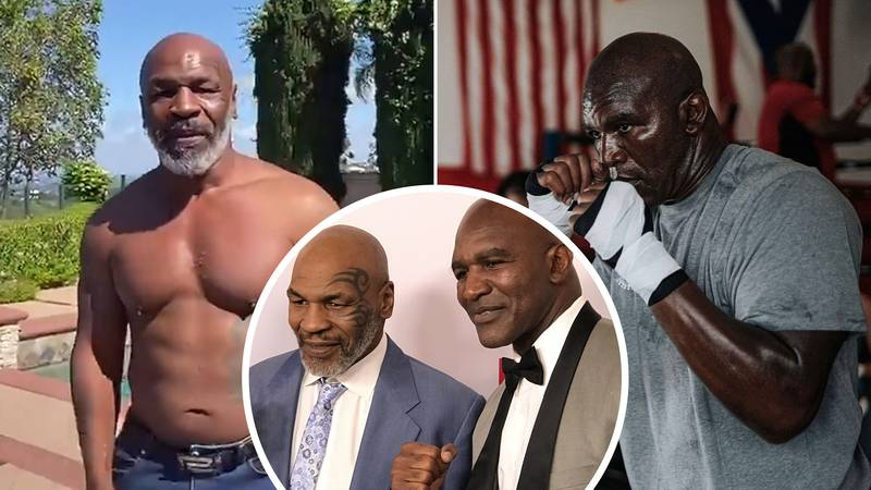 Mike Tyson And Evander Holyfield 'In Talks' Over November Fight In Middle East
