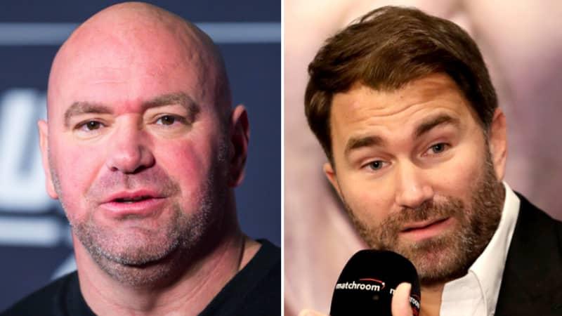 Eddie Hearn Reacts To Dana White Continuing To Host UFC 249