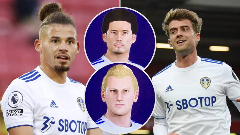 Leeds United Players Have The Funniest Game Faces In PES 21