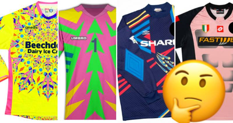 QUIZ: Can You Name The Football Team By Their Crazy Goalkeeper Shirt?