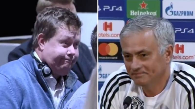 Jose Mourinho Hilariously Calls Out Journalist At His Press Conference
