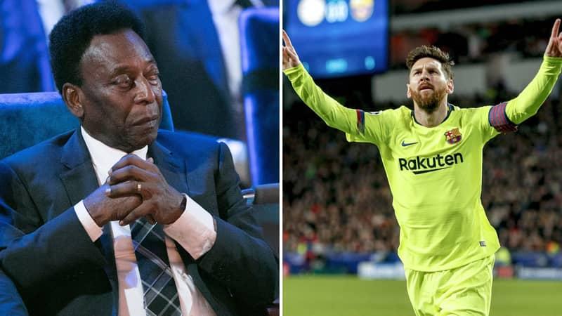 Barcelona Fan Slams Pelé In Brilliant Thread After Brazilian Legend's Criticism Of Lionel Messi