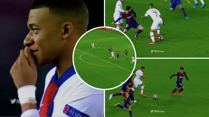 Kylian Mbappe's Highlights Against FC Barcelona Show He's A Future Ballon d'Or Winner