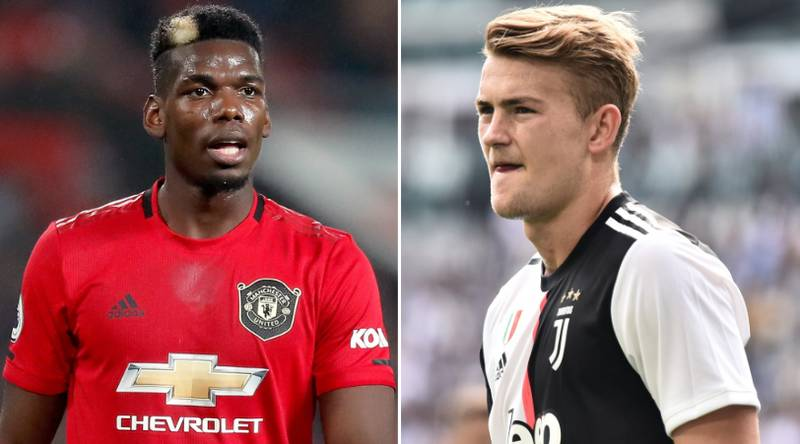Manchester United Ready To Swap Paul Pogba For Juventus Defender Matthijs De Ligt