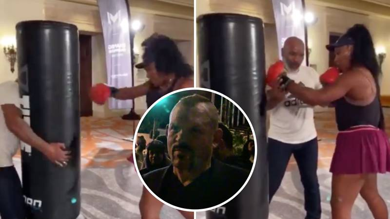 UFC Legend Chuck Liddell Reacts To Serena Williams' Sparring Session With Mike Tyson