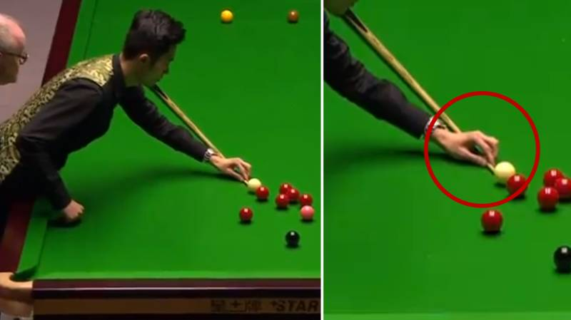Chinese Player Still Holds Title For The Most Bizarre Snooker Shot Of All Time