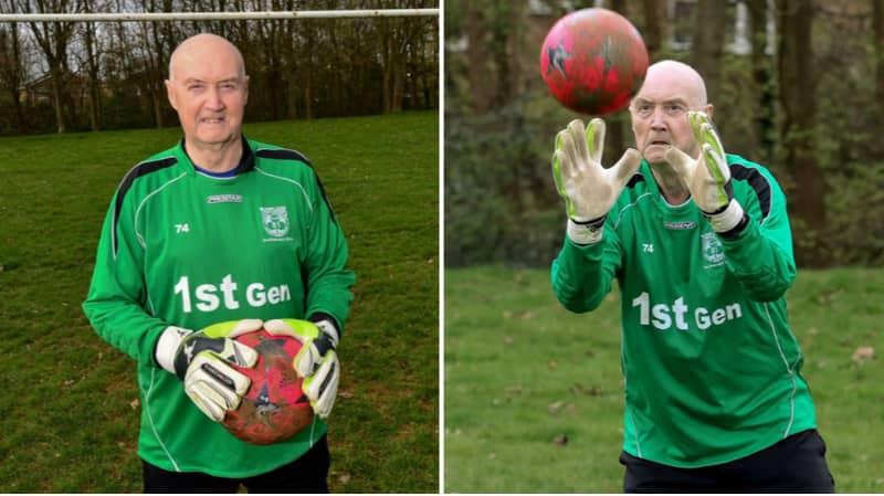 Meet 79-Year Old Colin Lee, Britain's Oldest Goalkeeper