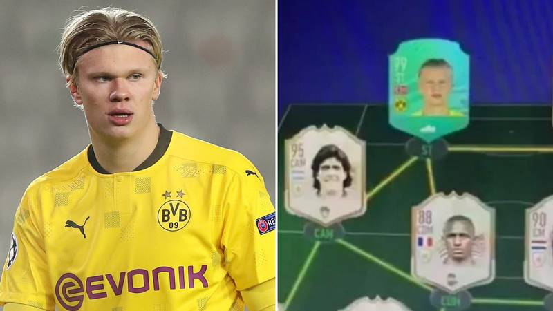 Erling Haaland's FIFA 21 Ultimate Team Has Leaked Online And It's Scarily Good