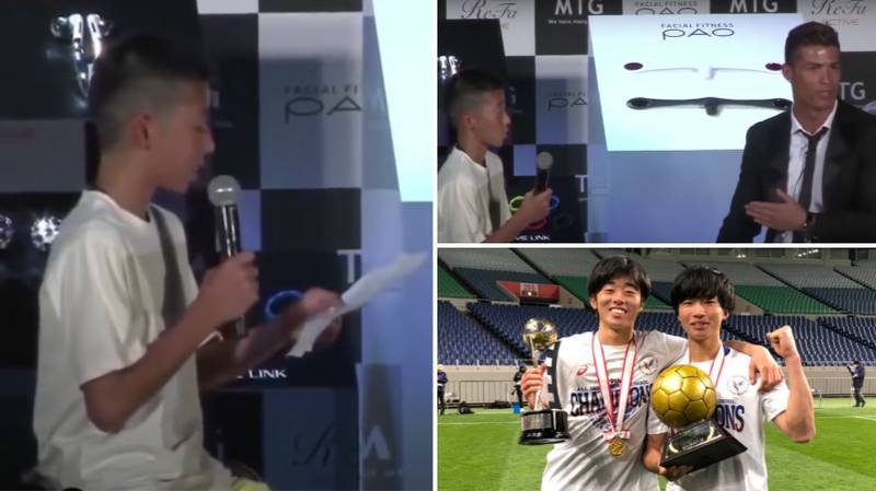 The Kid Ridiculed In 2012 When He Told Cristiano Ronaldo His Dream Is Now Going Places In His Football Career