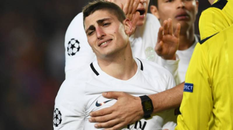 Marco Verratti Reveals What Barcelona Players Told Him After Cavani Goal