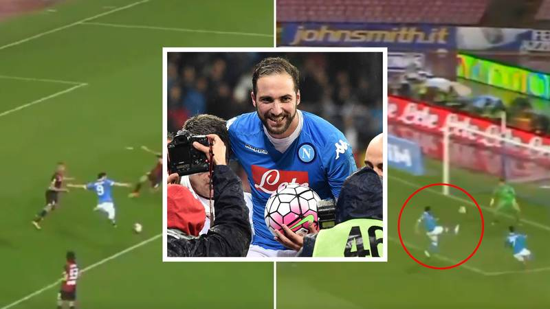 Gonzalo Higuain's 36-Goal Season For Napoli Proves He Is The Most Underrated Striker Of His Generation