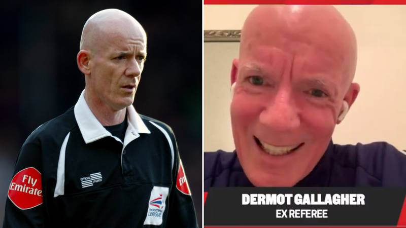 Ex-Referee Dermot Gallagher Reveals His 'Real Accent' And Fans Are Baffled