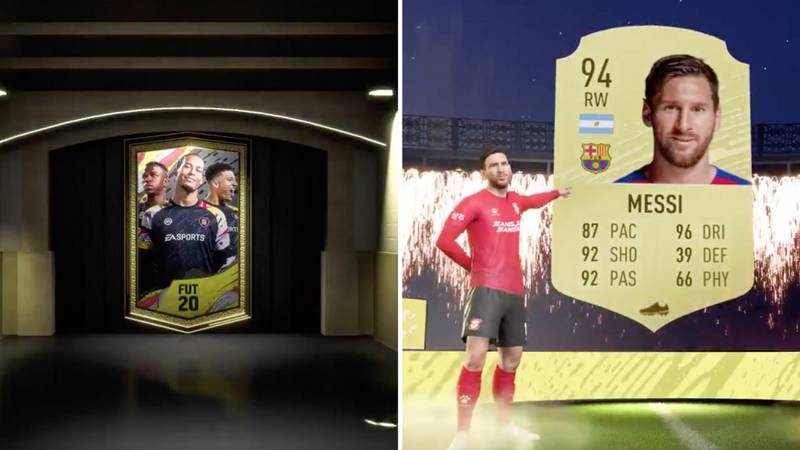 Lionel Messi Has Already Been Pulled From A FIFA 20 Ultimate Team Pack