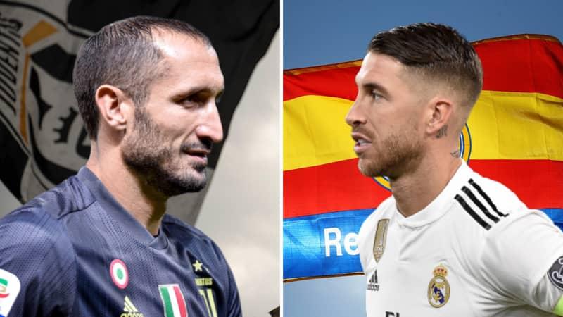 Giorgio Chiellini Names Sergio Ramos The 'Best Defender In The World'