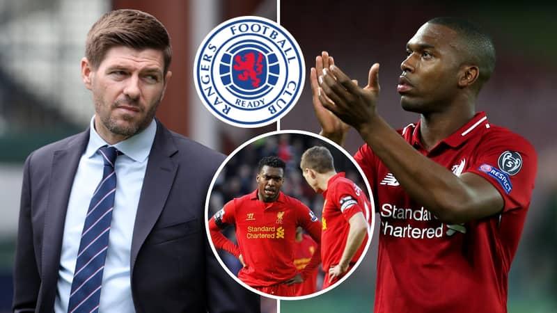 Steven Gerrard's Rangers Become Favourites To Sign Ex-Liverpool Striker Daniel Sturridge