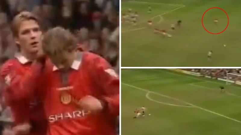 Ole Gunnar Solskjaer Is Responsible For The Greatest Red Card In Manchester United History