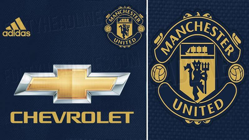 Manchester United's Navy And Gold Away Kit For The 2018/19 Season Is Perfection