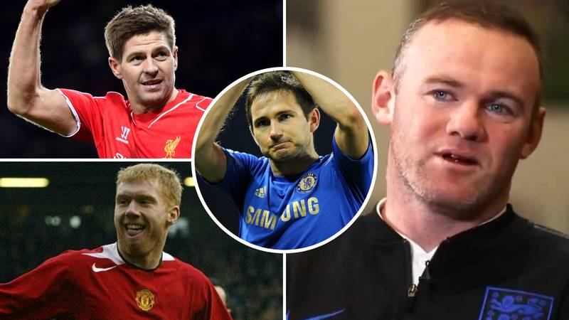 Wayne Rooney Settles The Steven Gerrard, Paul Scholes And Frank Lampard Debate Once And For All