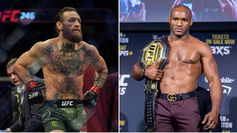 UFC Champion Kamaru Usman Responds To Conor McGregor Teasing A Move To Welterweight