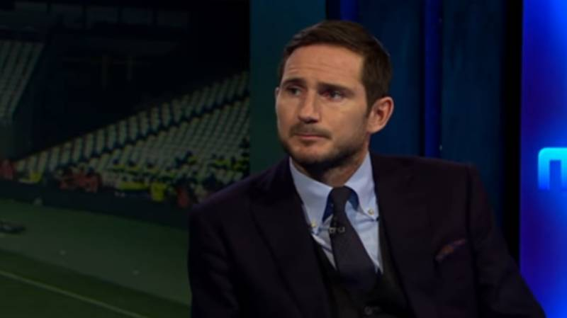 It's Hard To Disagree With Frank Lampard's Premier League TOTS