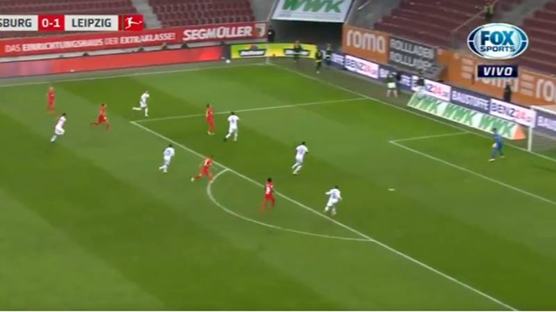 Yussuf Poulsen Scores Spectacular Volley With One Of The Purest Strikes You'll See This Season
