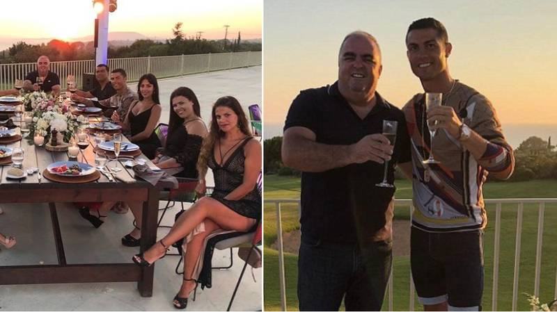 Cristiano Ronaldo Left £17,850 Tip For Staff At Greek Hotel He Stayed In
