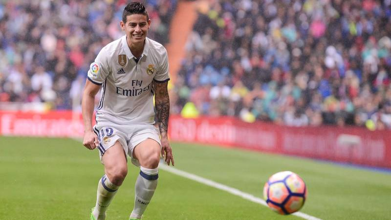 Latest Club Added To The James Rodriguez Transfer Saga