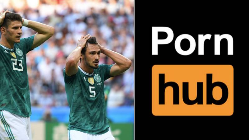 Pornhub Remove The German Category From Their Website After World Cup Elimination