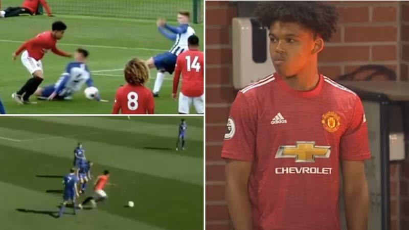 "Meet The 16-Year-Old Sensation Manchester United Think Is ""The Next Jadon Sancho"""