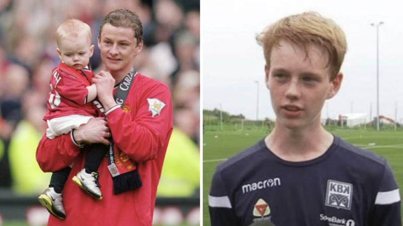 Ole Gunnar Solskjaer's Son Noah Ready To Make His Senior Debut Against Manchester United