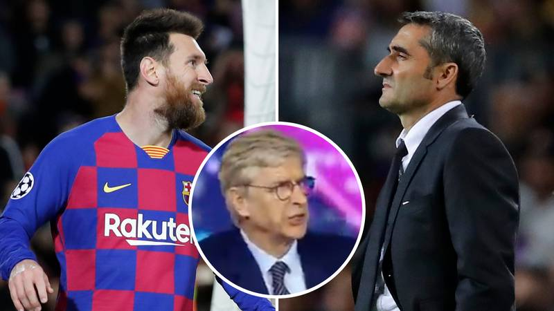 Arsene Wenger Savages Barcelona In Brutal Analysis After Slavia Prague Draw