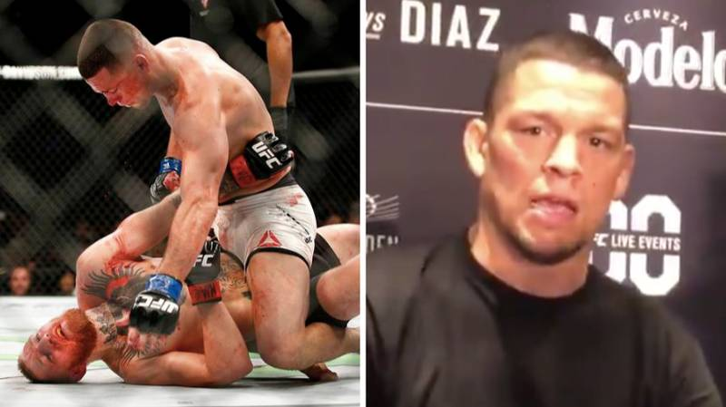 Nate Diaz Responds To Potential Trilogy Fight With Conor McGregor