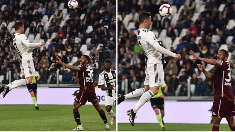 Cristiano Ronaldo Has Now Scored 100 Headed Goals In His Career