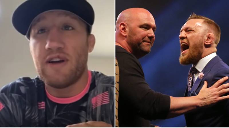 Justin Gaethje Brutally Reacts To Conor McGregor Saying He Wanted To Fight Him In May Amid Dana White Spat