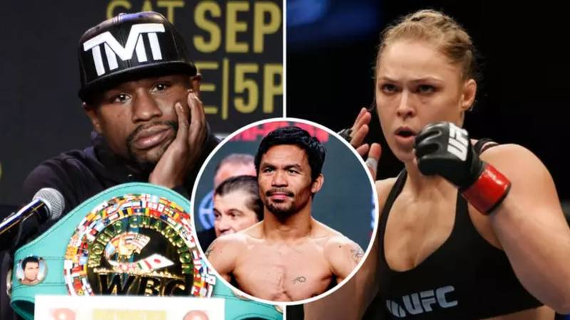 Ronda Rousey's Reaction To Manny Pacquiao Claiming That She Could Beat Floyd Mayweather