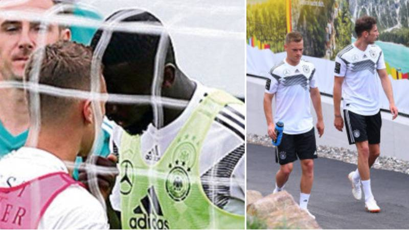 Antonio Rudiger And Joshua Kimmich Involved In Heated Training Ground Bust-Up