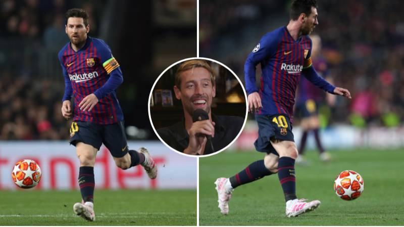Peter Crouch: Lionel Messi Would Become The Best Midfielder Of All Time If He Dropped Deeper