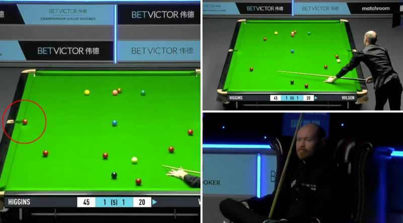 Snooker's Gary Wilson Reacts Like Any Pub Player Would To Missing Red